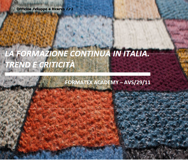 La formazione continua in Italia. Trend e criticità