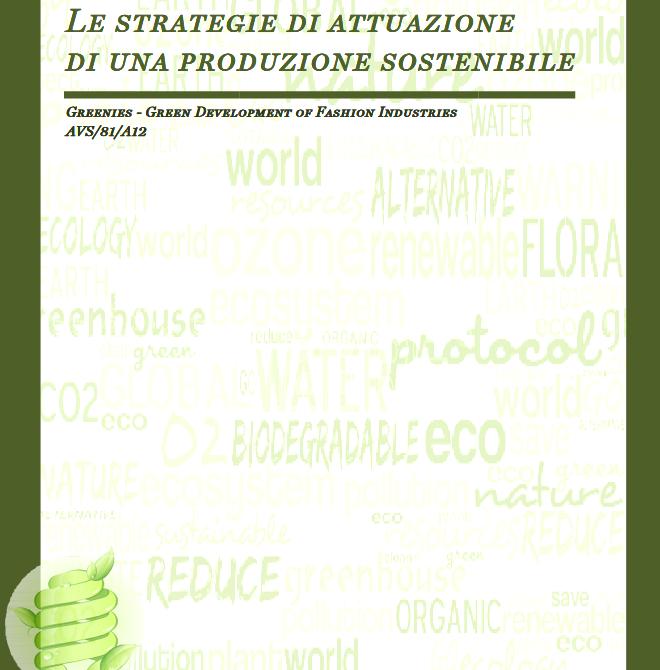 Le strategie di attuazione di una produzione sostenibile