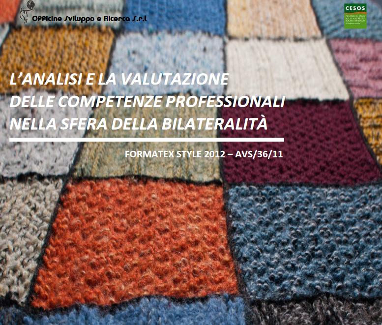 L'analisi e la valutazione delle competenze professionali nella sfera della bilateralità